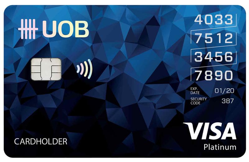สินเชื่อยูโอบี / UOB CREDIT CARDS